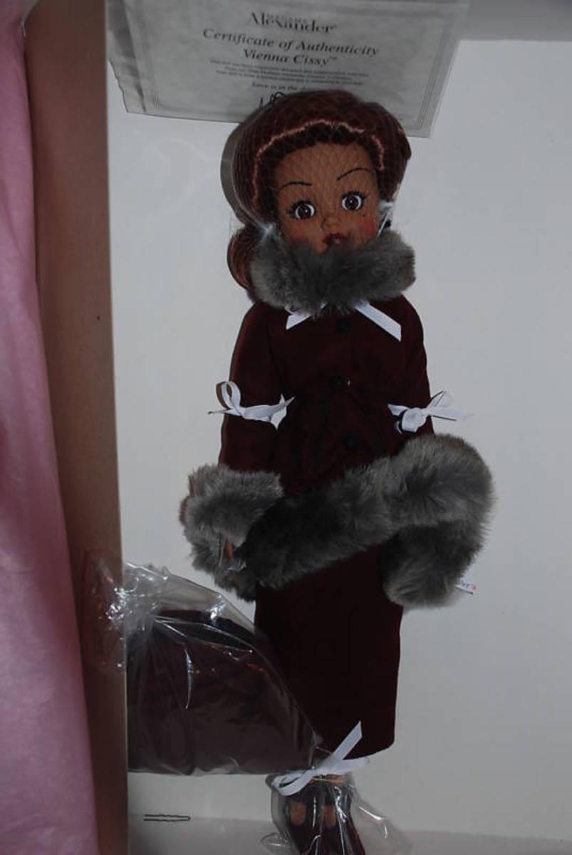 Vienna Cissy 21'' Madame Alexander Limited Edition