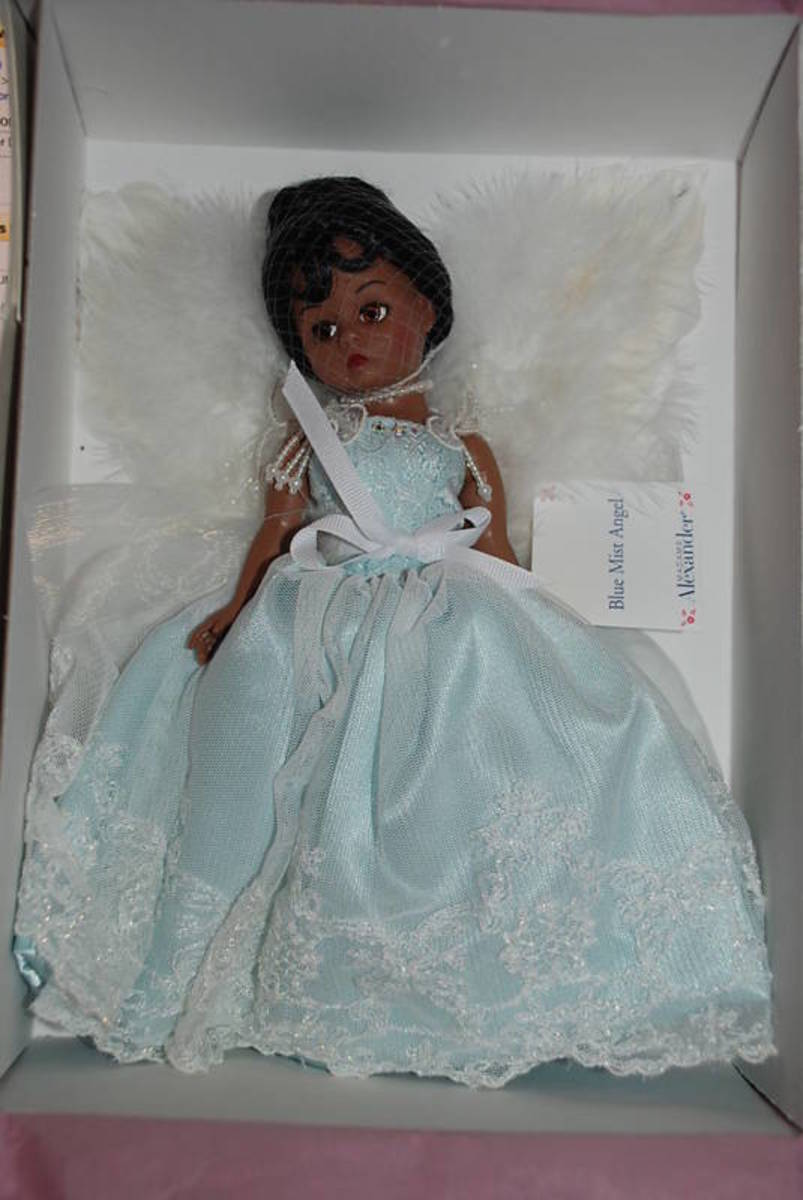 "Blue Mist Angel Madame Alexander 10"" Doll"
