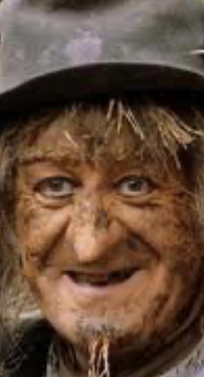 Project for Bored Kids : Making a Scarecrow Like Worzel Gummidge
