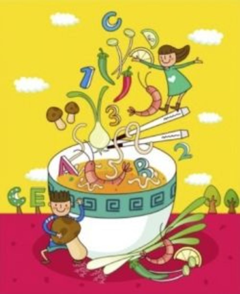 Alphabet Soup Poster from