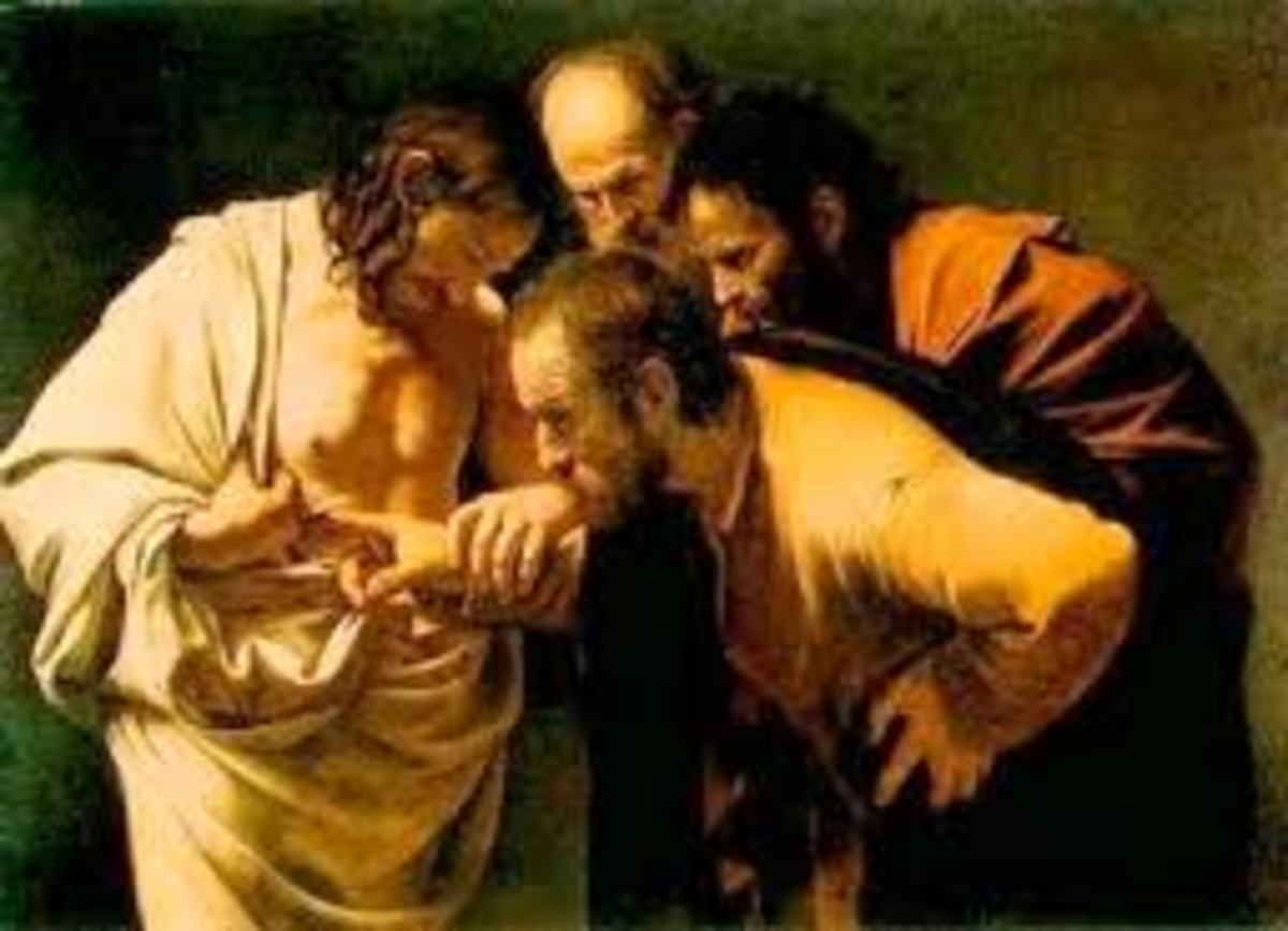 """John 20:28 """"Thomas answered and said to Him, 'My Lord and my God!'"""""""