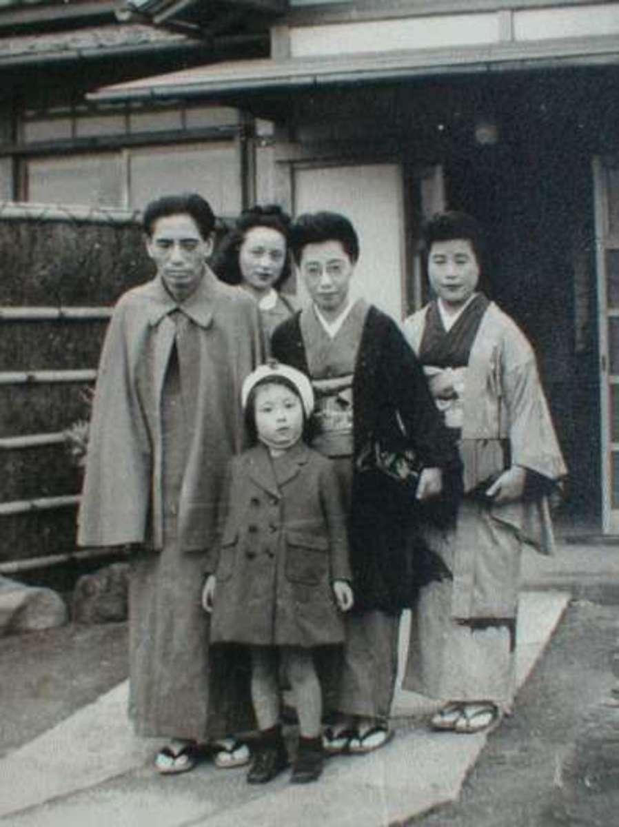 Michio Miyagi and his Family