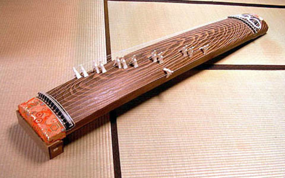 Traditional Japanese Koto