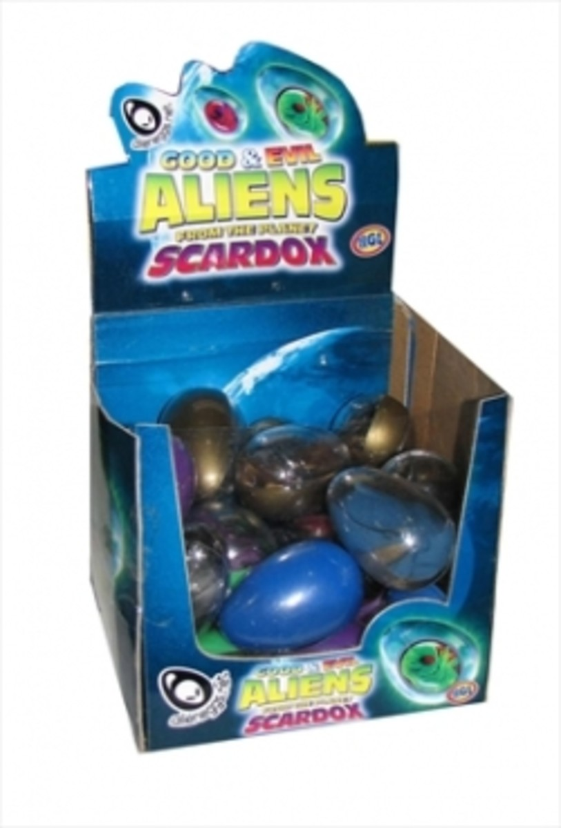 Good & Evil Aliens from the Planet Scardox