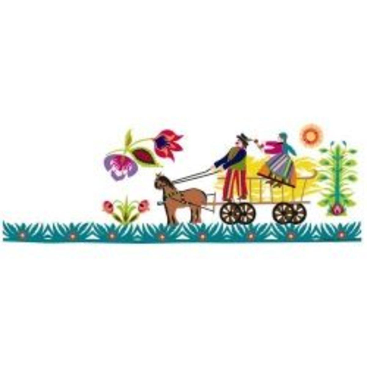 Floral Kodra Design
