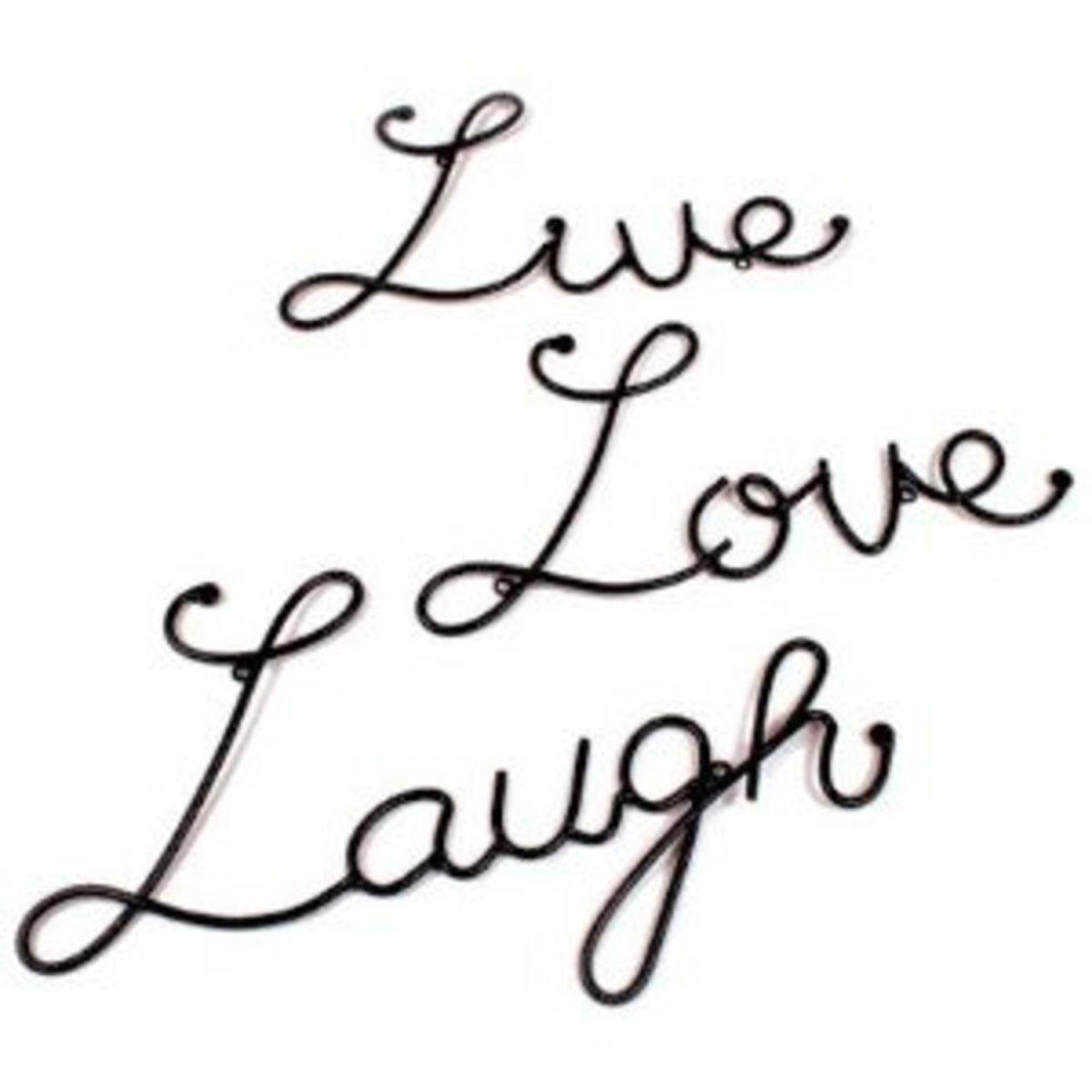 live-laugh-love-wall-decor