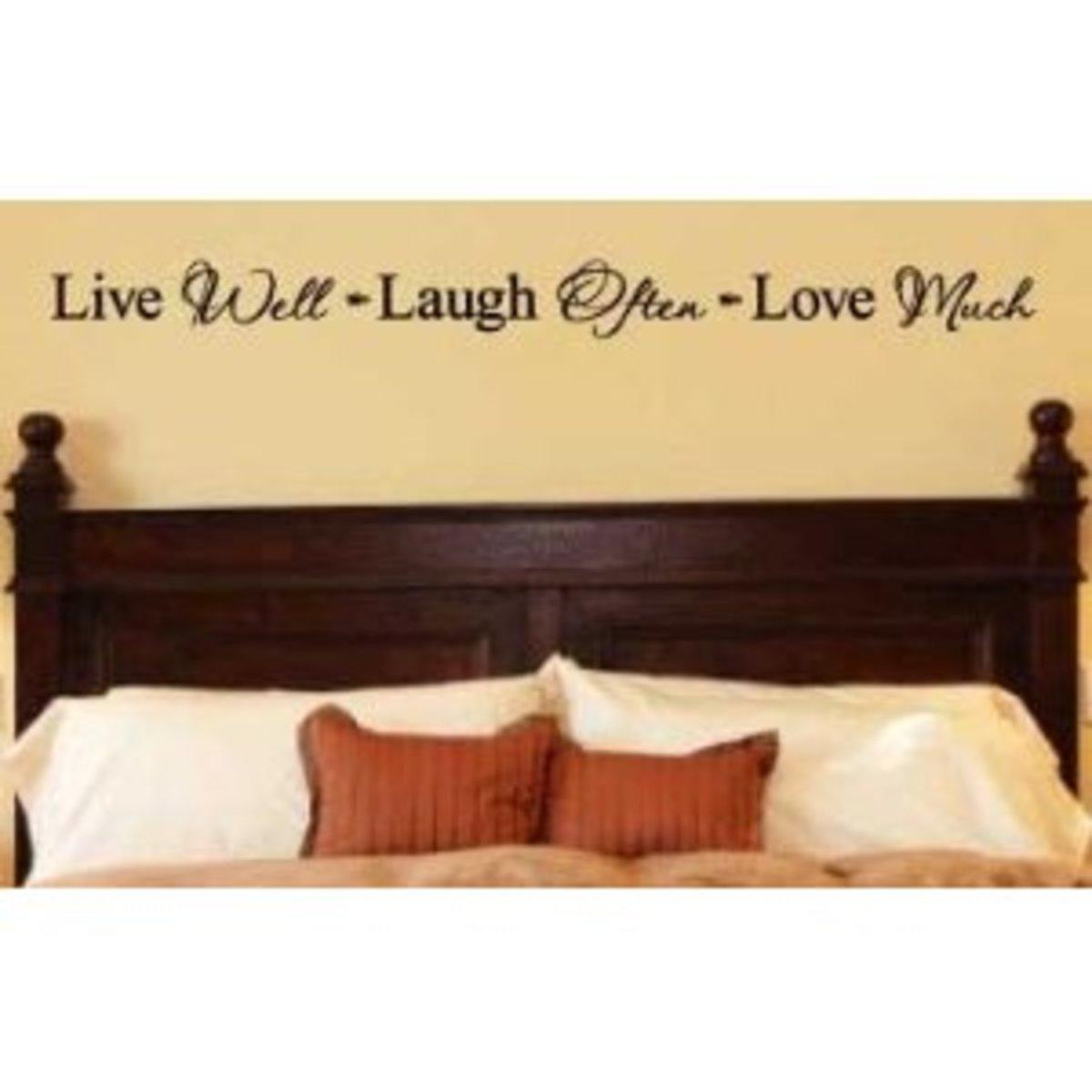 Live Laugh Love Origin