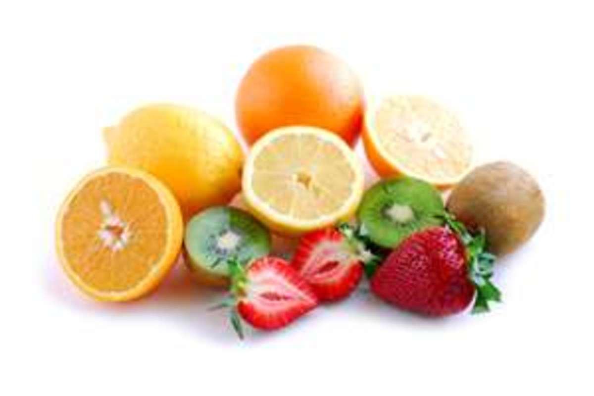 Eat lots of fresh fruits