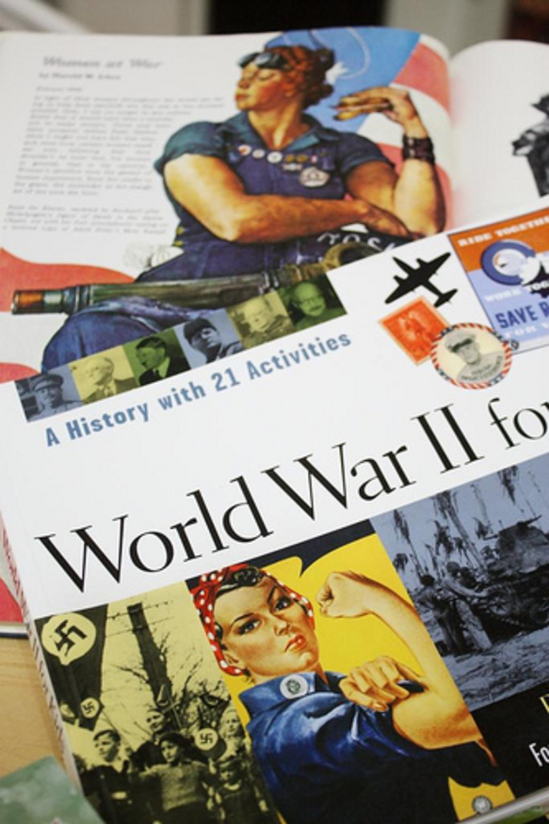 World War 2 For Kids History Spine
