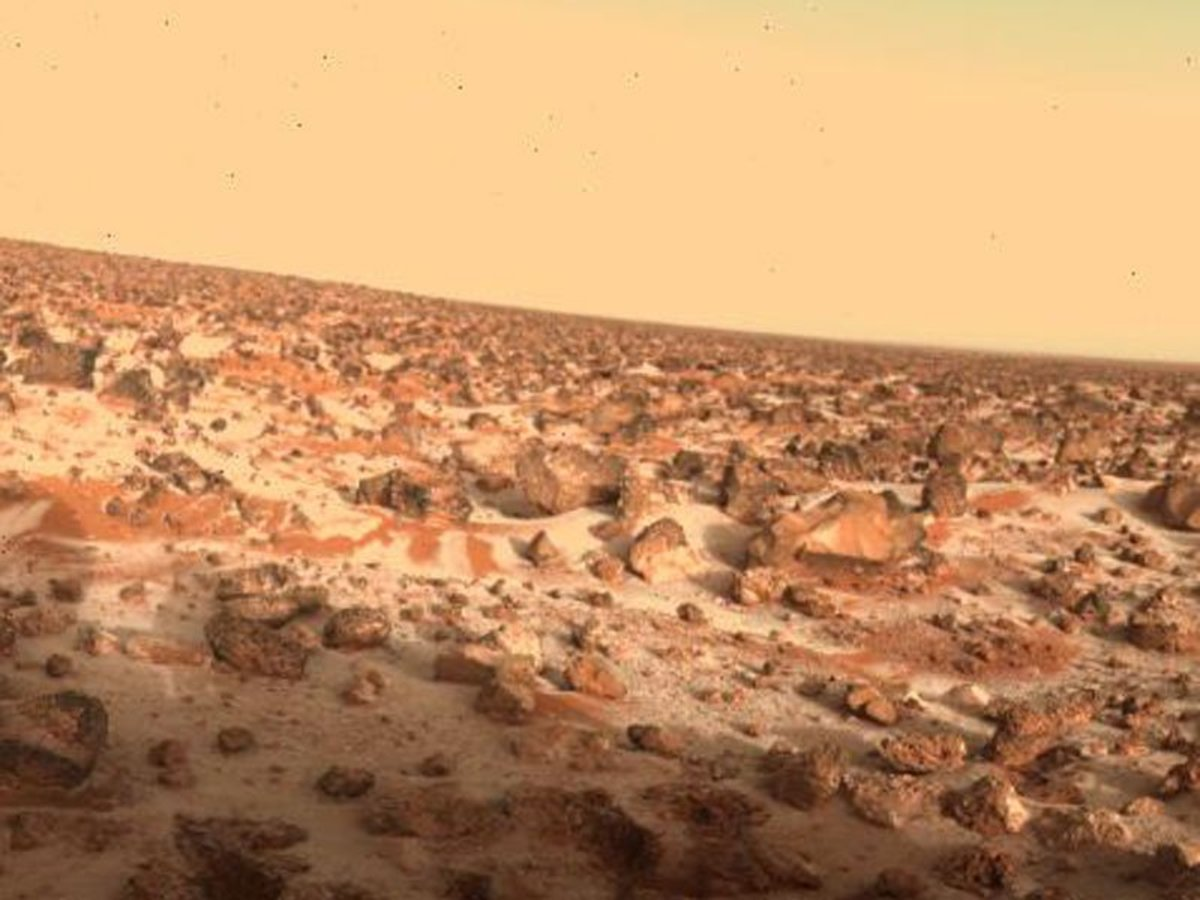 Evidence of flowing water was recently found on the surface of Mars which raise the possibility that  life may be there or it was there.