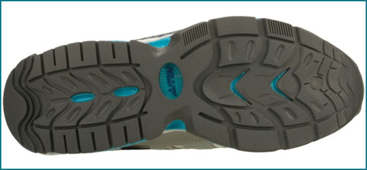 High traction outsole for maximum stability