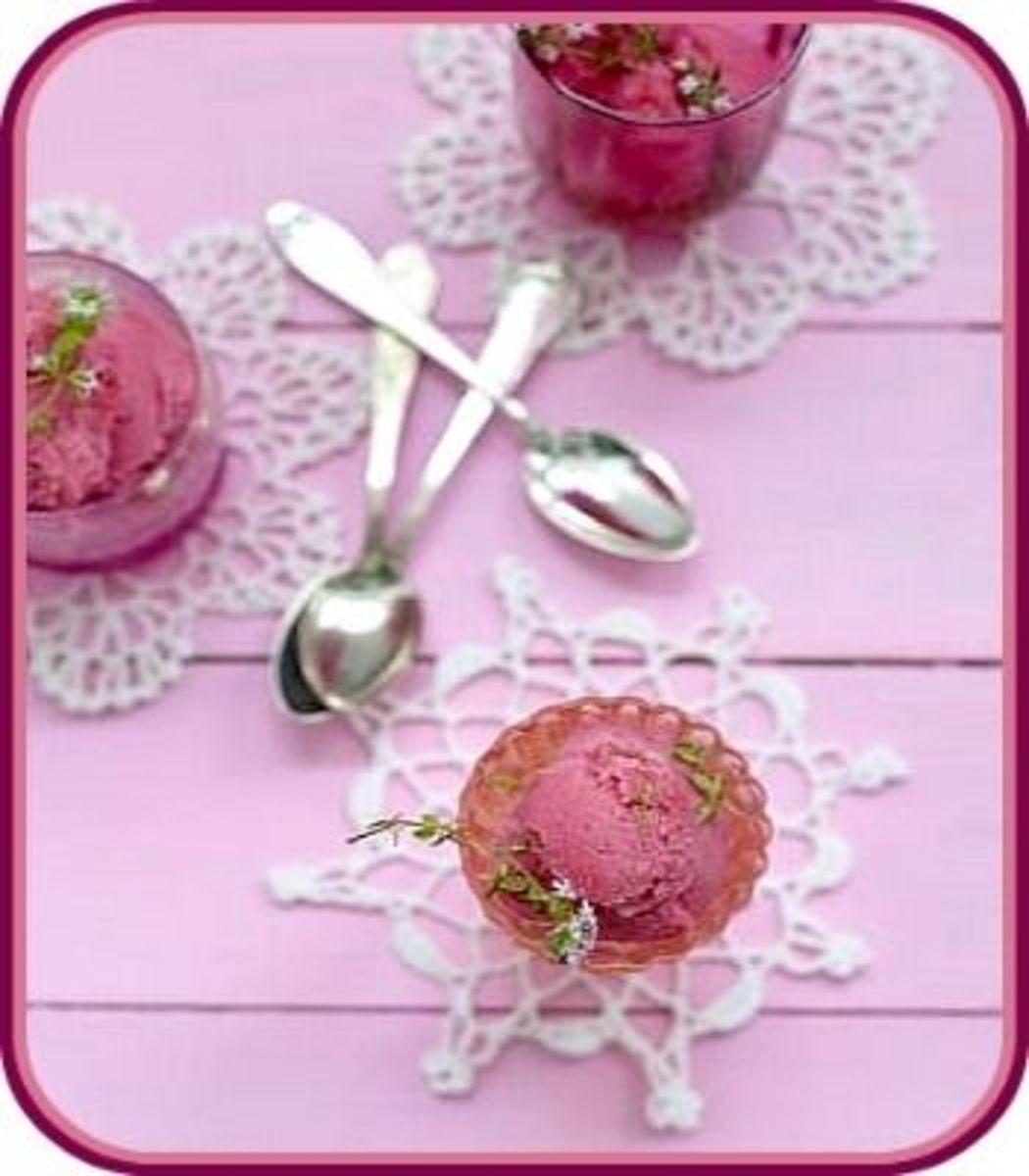 Violet Ice Cream