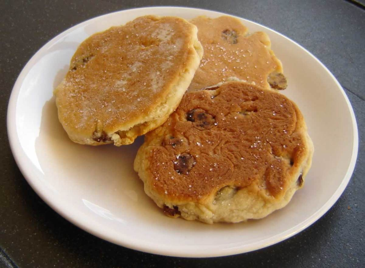 Traditional: Welsh cakes have been a popualr snack in Wales for many generations