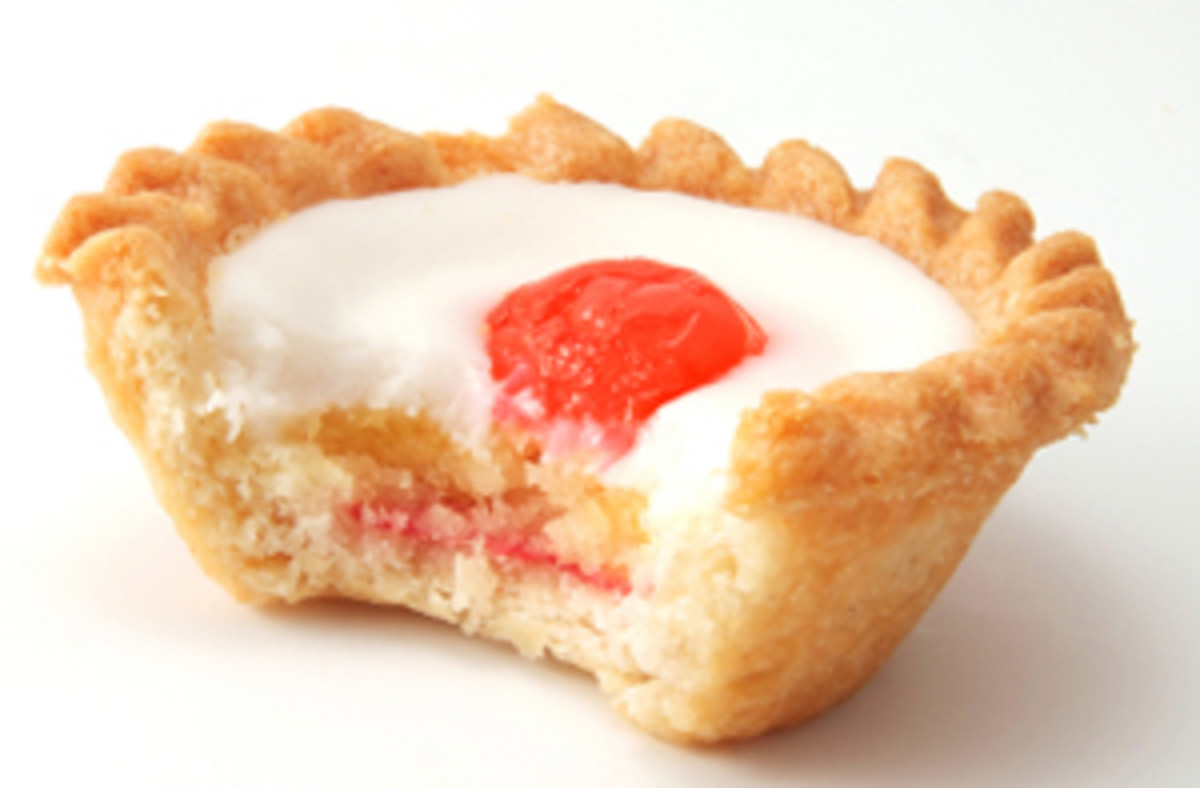 Sweet: Bakewell tarts are manufactured by several large companies