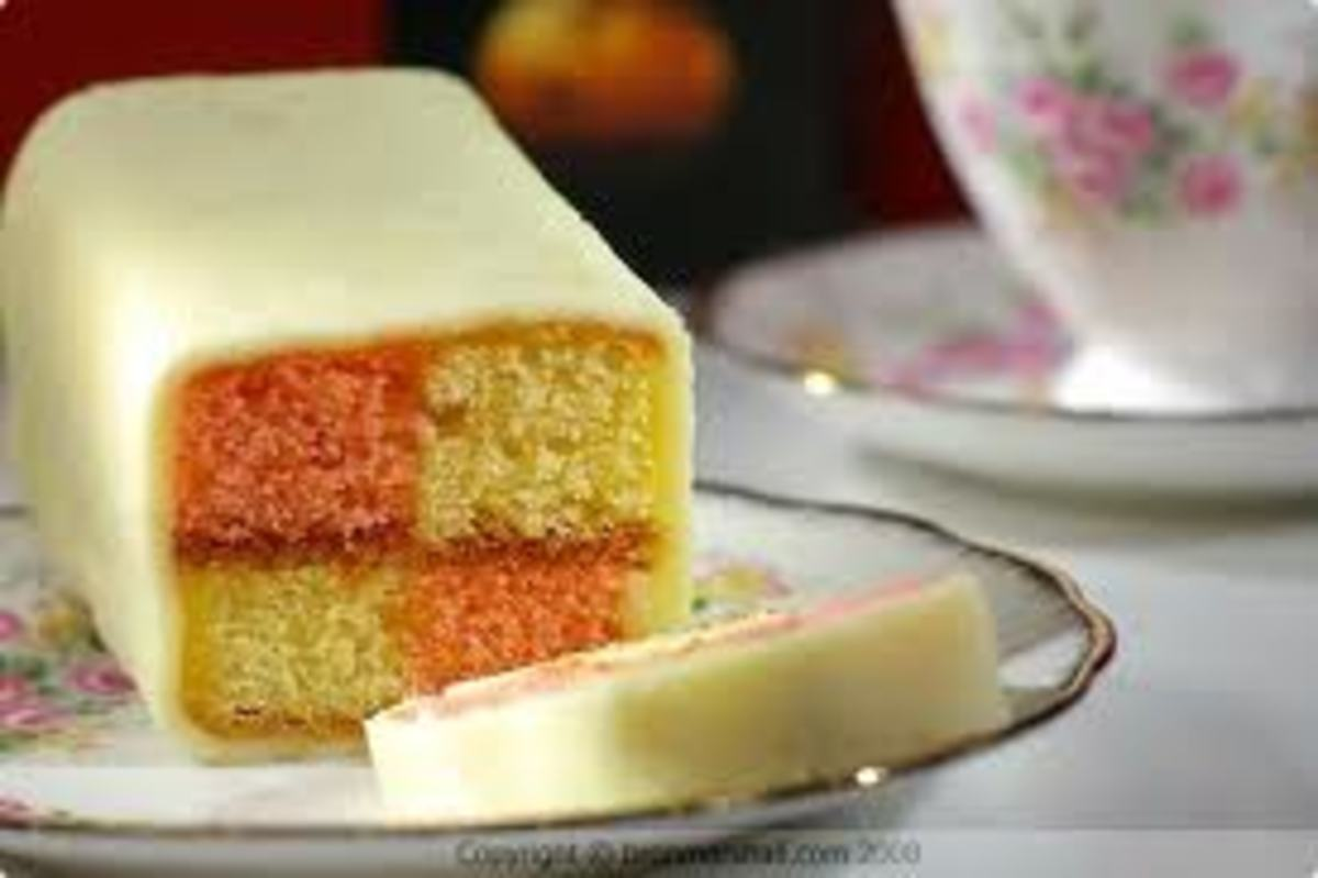 Battenberg: Each square is said to represent a prince