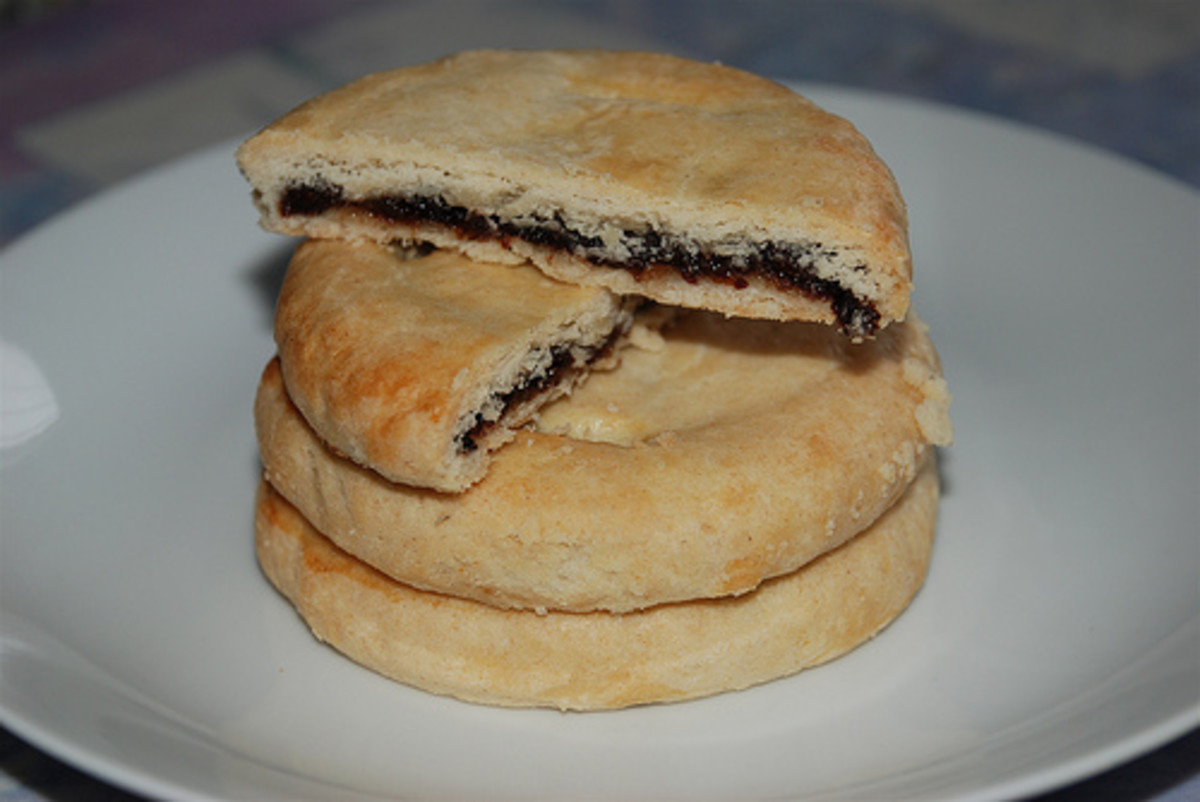 Up North: Chorley cakes are similar to Eccles cakes and come from the same region of Northern England