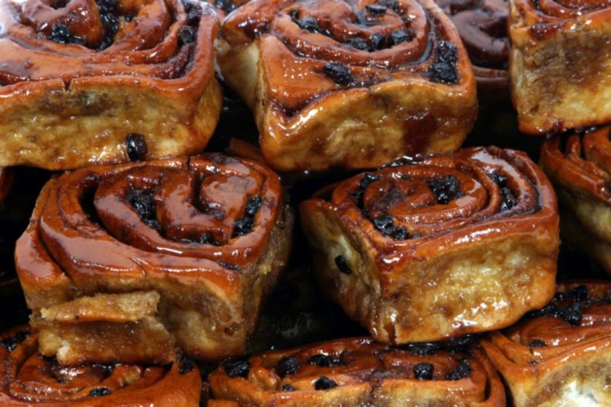 Sweet: Chelsea buns made area famous before it's super rich football team Chelsea FC
