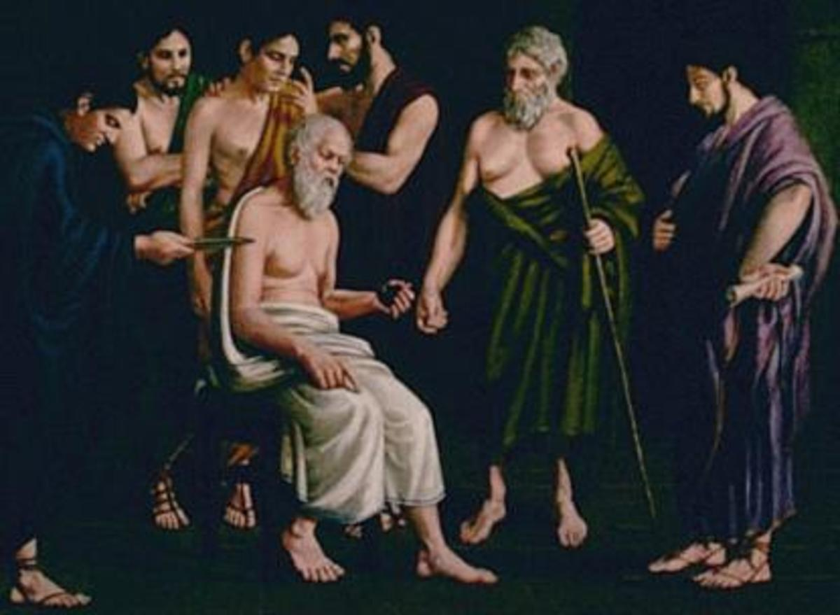 The Death of Socrates by Elsie Russell