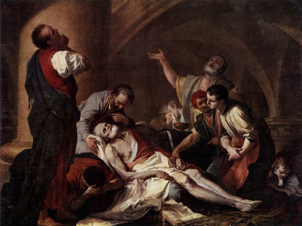 The Death of Socrates by Giambettino Cignaroli