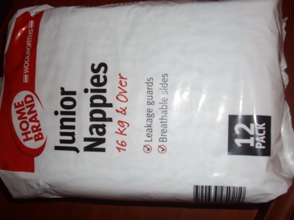 WOOLWORTHS HOME BRAND NAPPIES PHOTO AND REVIEW