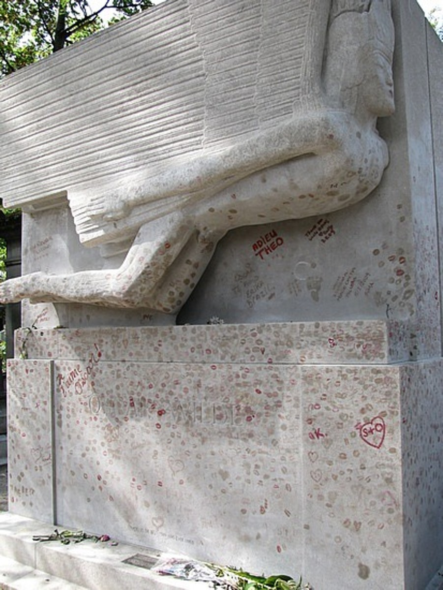 Oscar's tomb in Paris