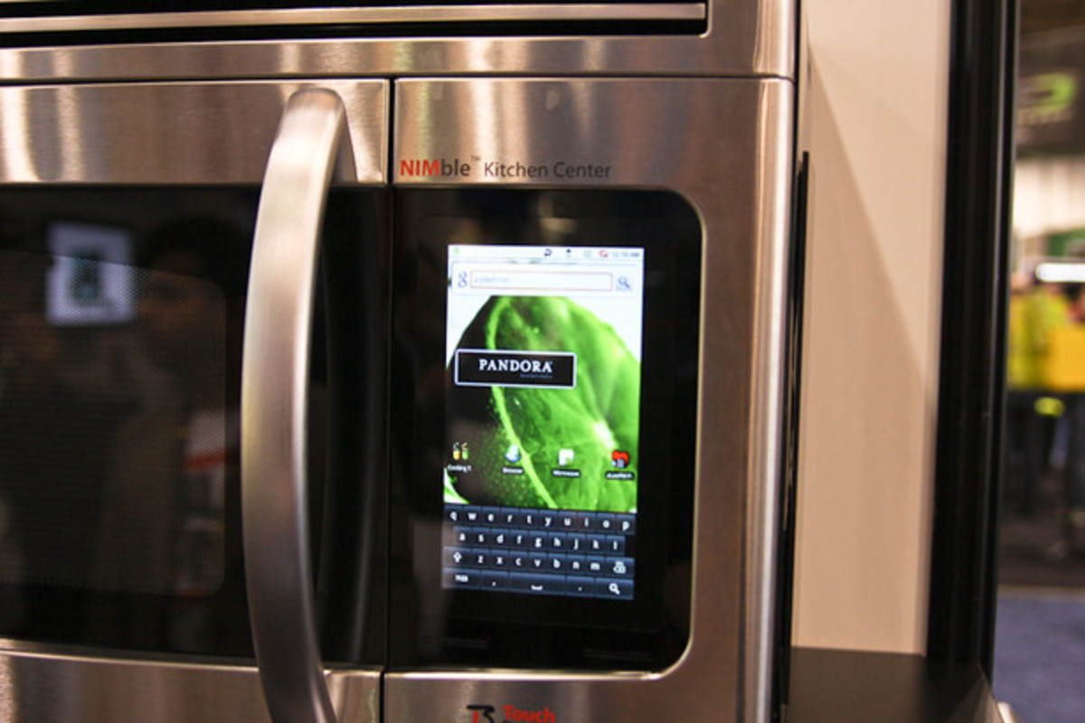 Touch Revolution NIMble Microwave powered by Android