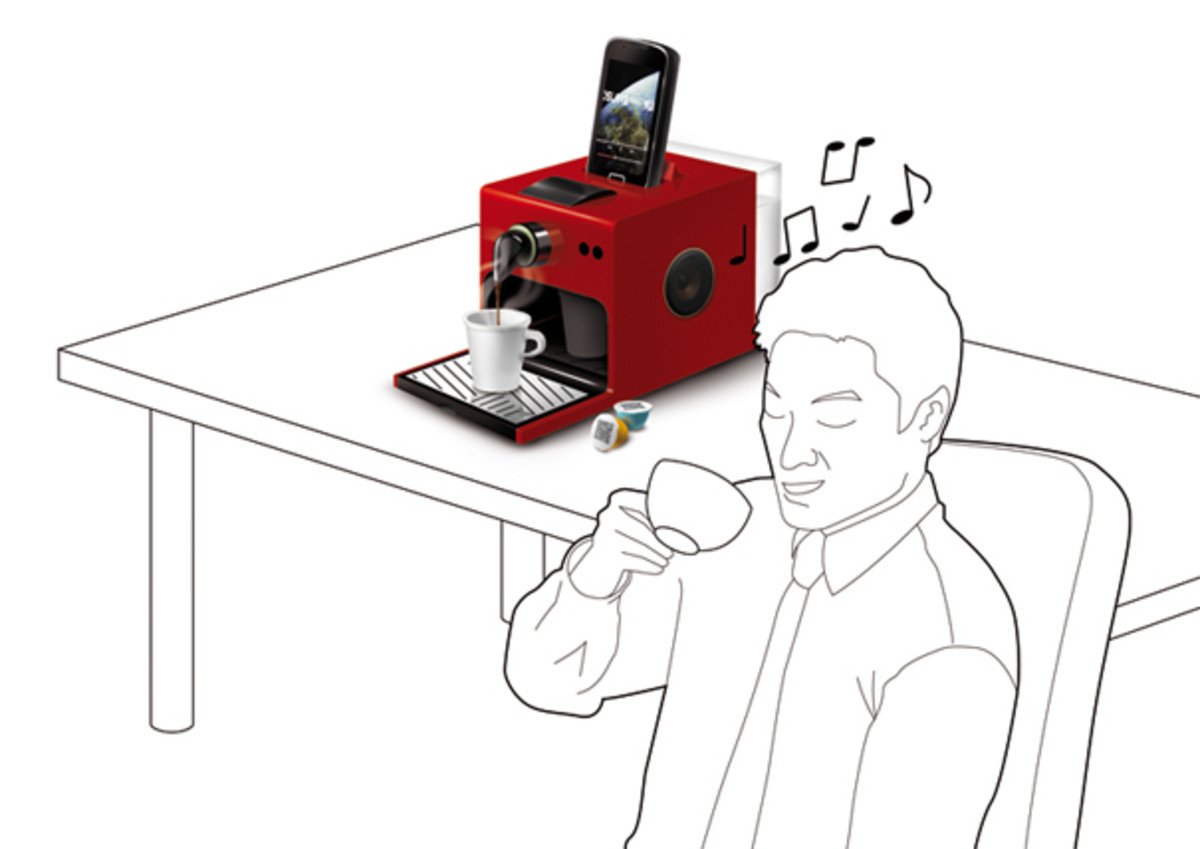 Apresso, the Android espresso machine