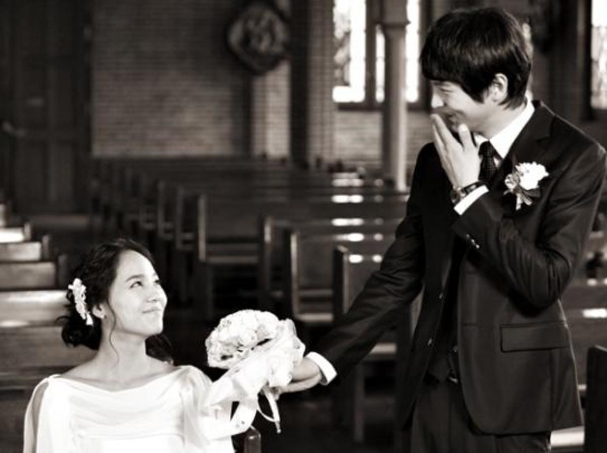 Shin Yu Kyung and Goo MA Jun