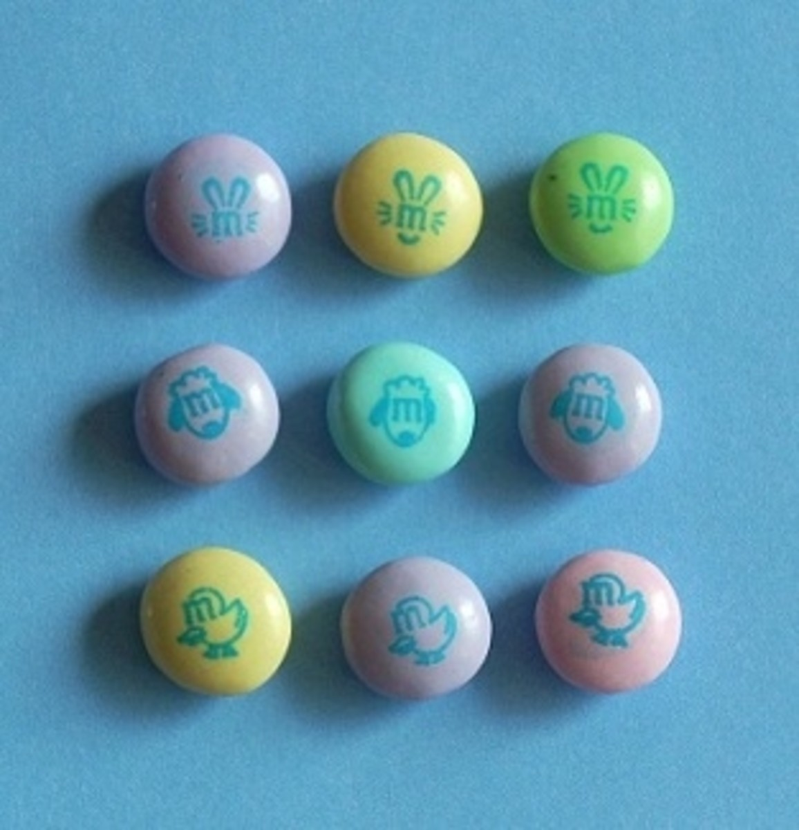 Pastel Easter M&Ms
