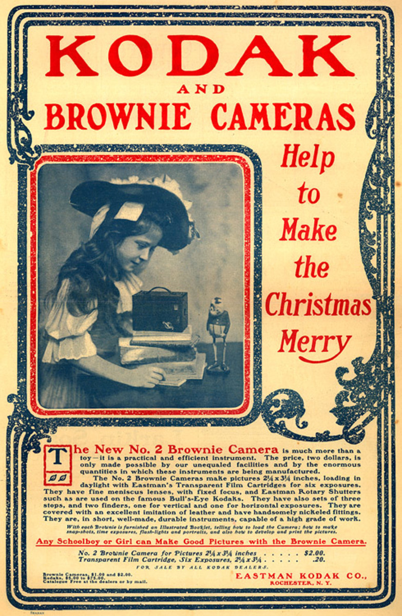 Kodak's Brownie Camera First Portable Camera