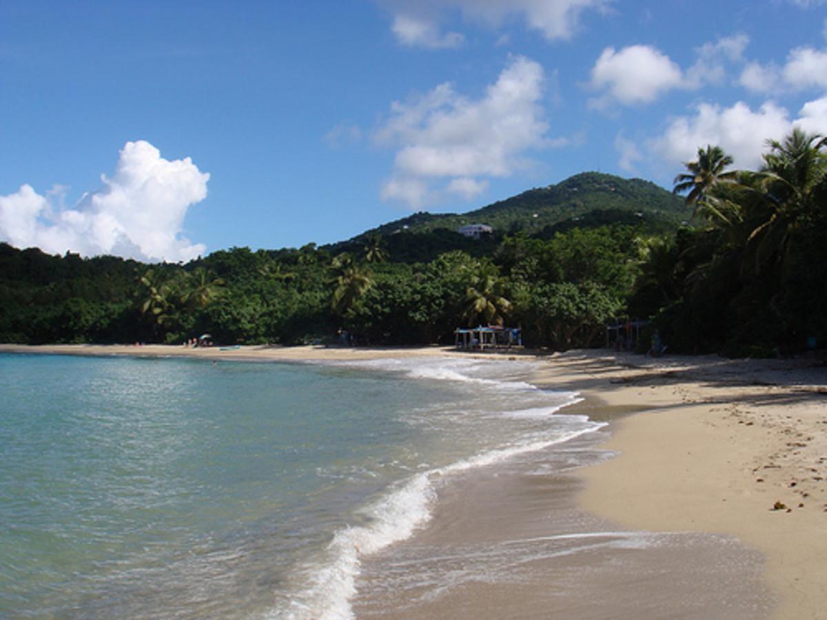 Beach on St Thomas, USVI