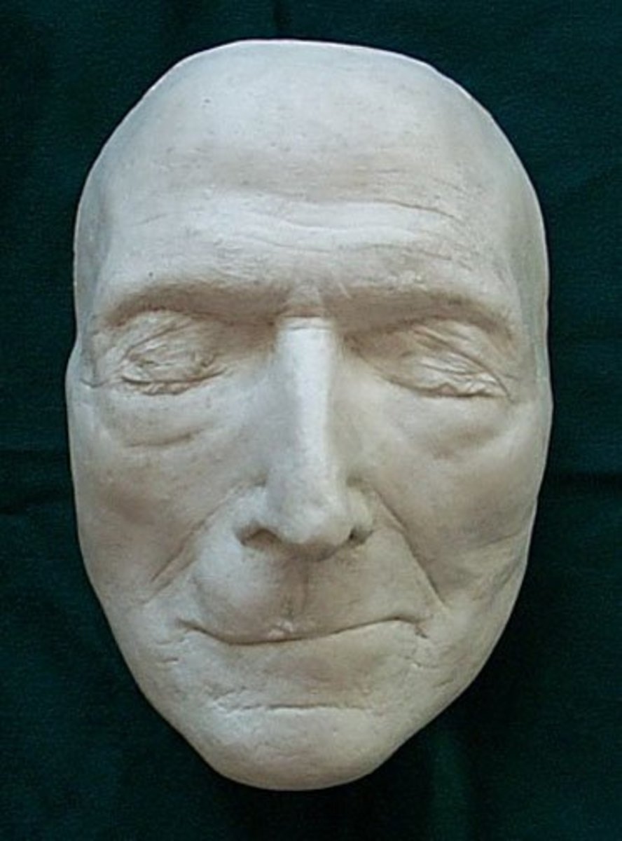 JOHN WESLEY DEATH MASK