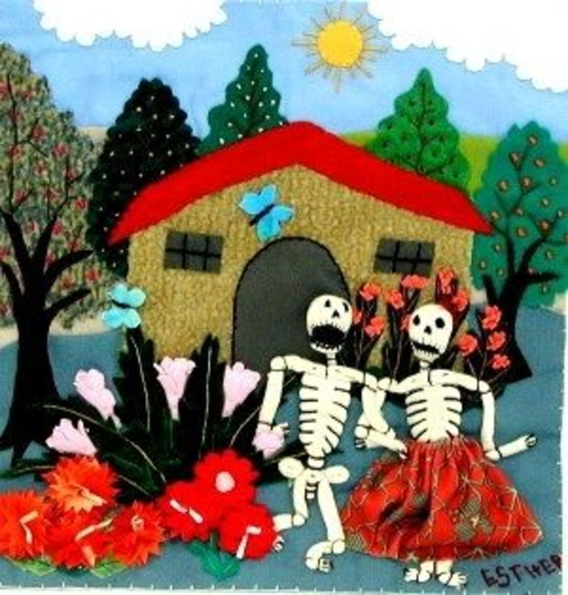 Day of the Dead is a popular theme