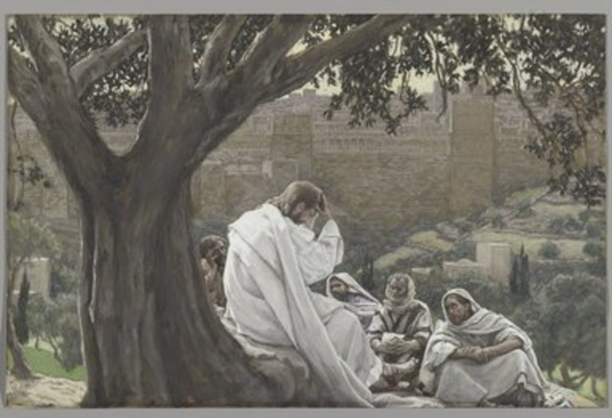 The Prophecy of the Destruction of the Temple, James Tissot (1836-1902)