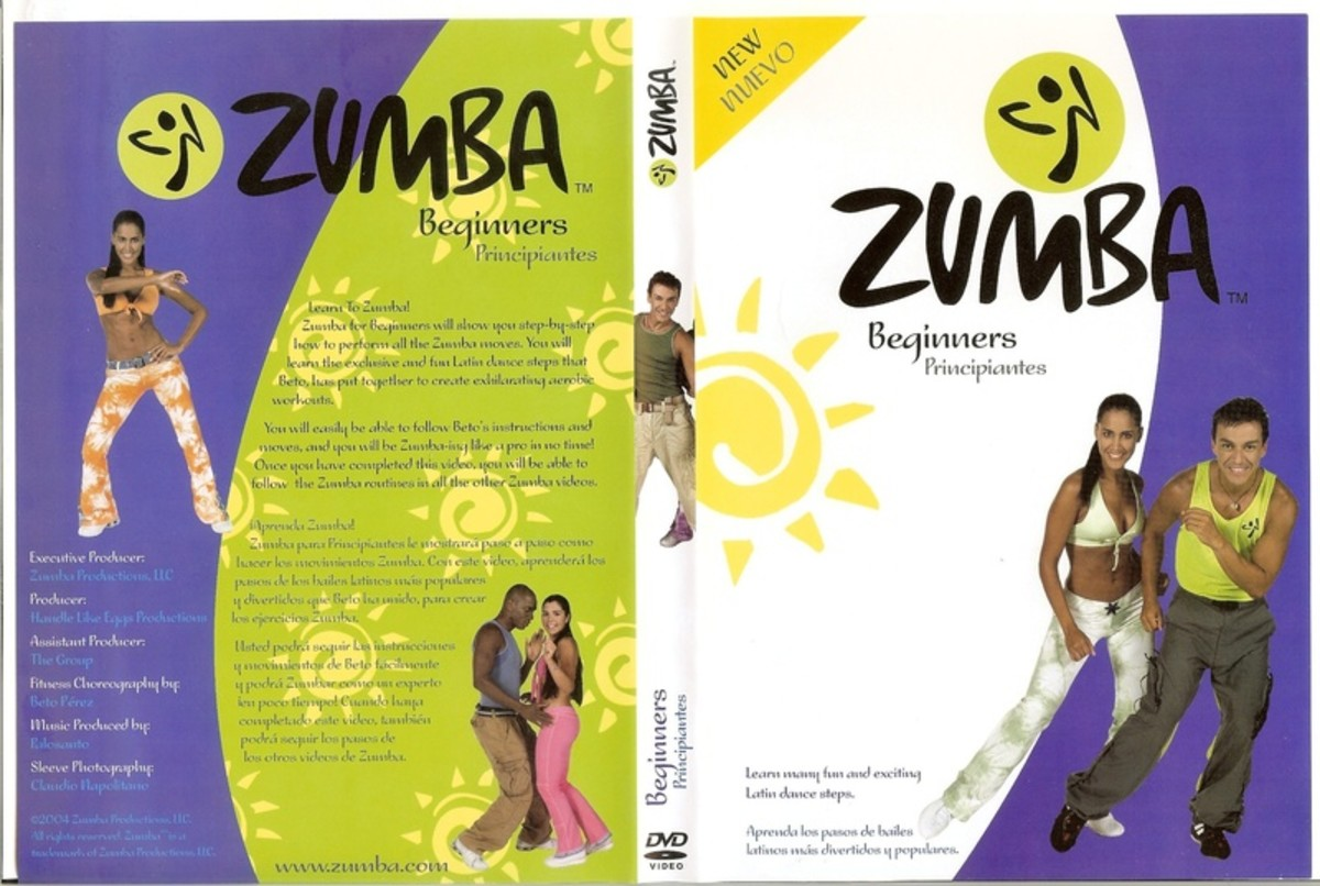zumba dvd workout review the hot fitness latin dance hubpages. Black Bedroom Furniture Sets. Home Design Ideas
