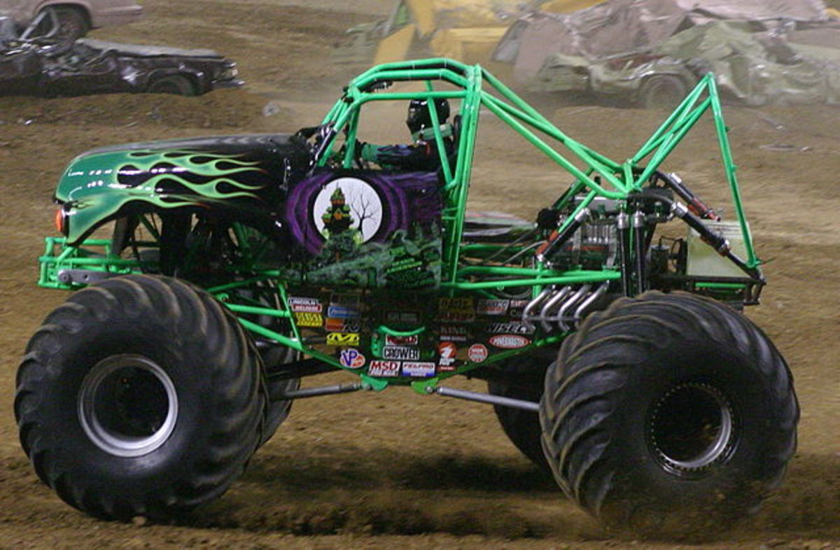 Grave Digger is one of the best-known and most famous monster trucks.