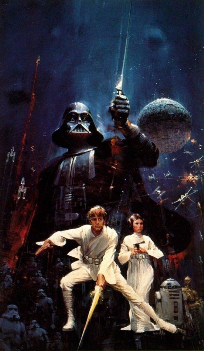 Star Wars - Art by John Berkey