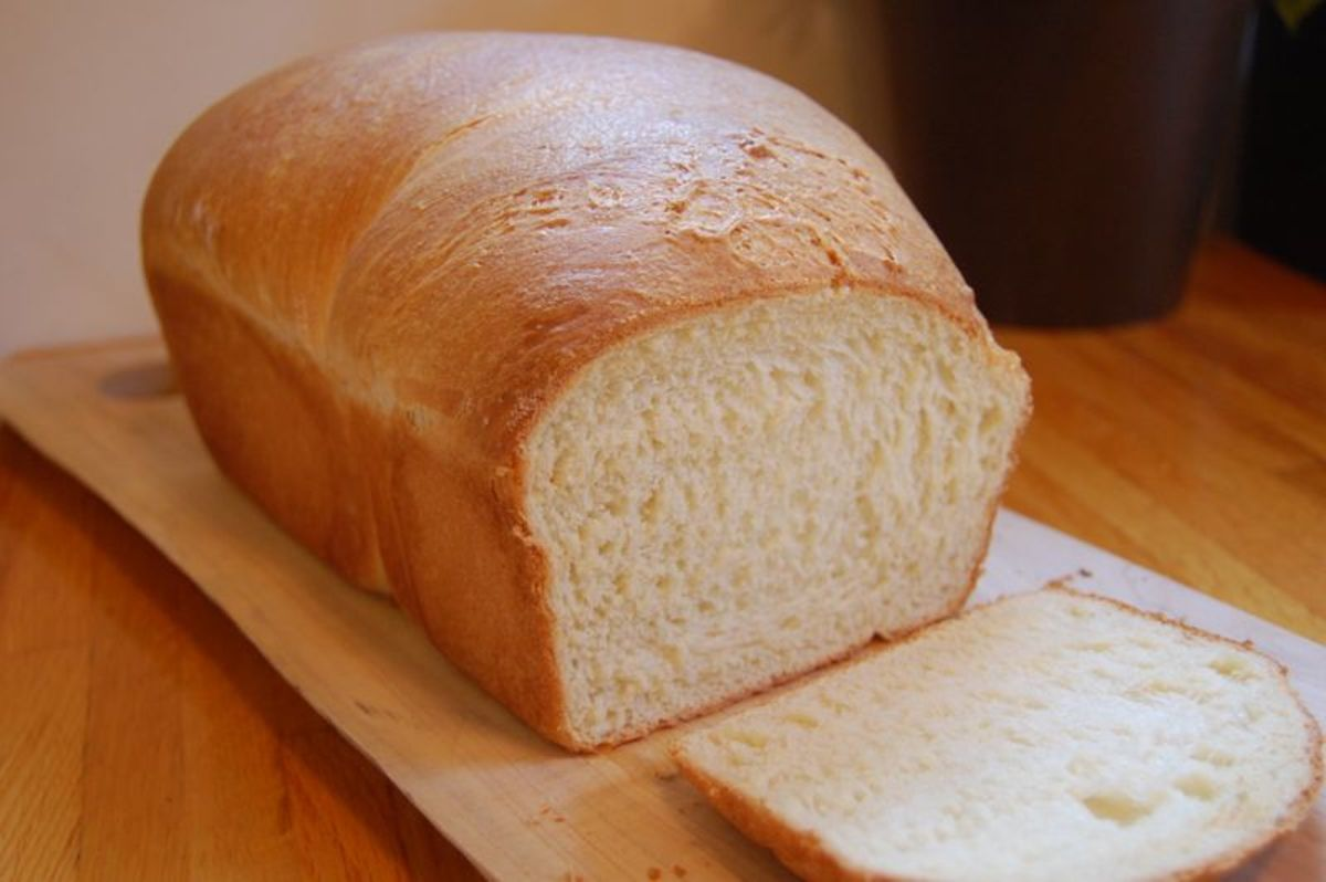 Let it rest, slice and enjoy! It satys fresher longer if you only slice-off what you need each time to serve your easy, yet tasty homemade bread.