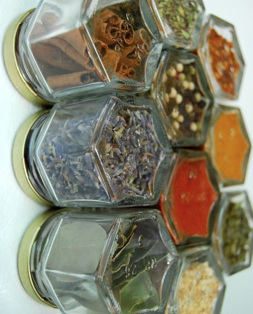 Dried spices can add an extra dimension of flavor to your homemade bread.