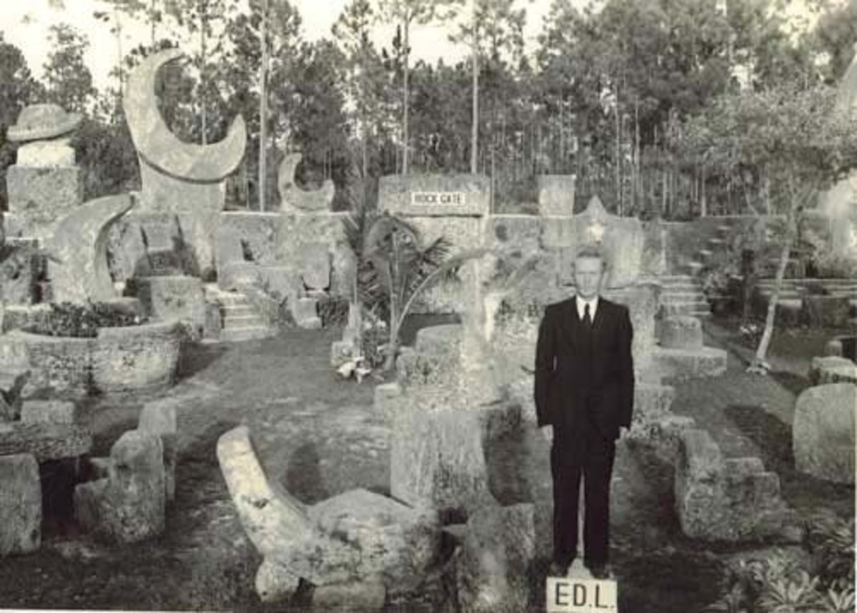 Coral Castle - The Secrets of The Coral Castle Code 144