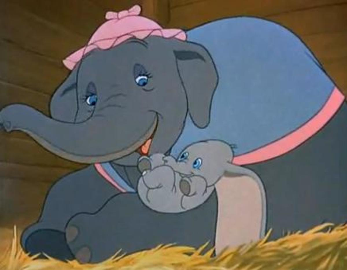 Dumbo The Flying Elephant - Animated Movie Story