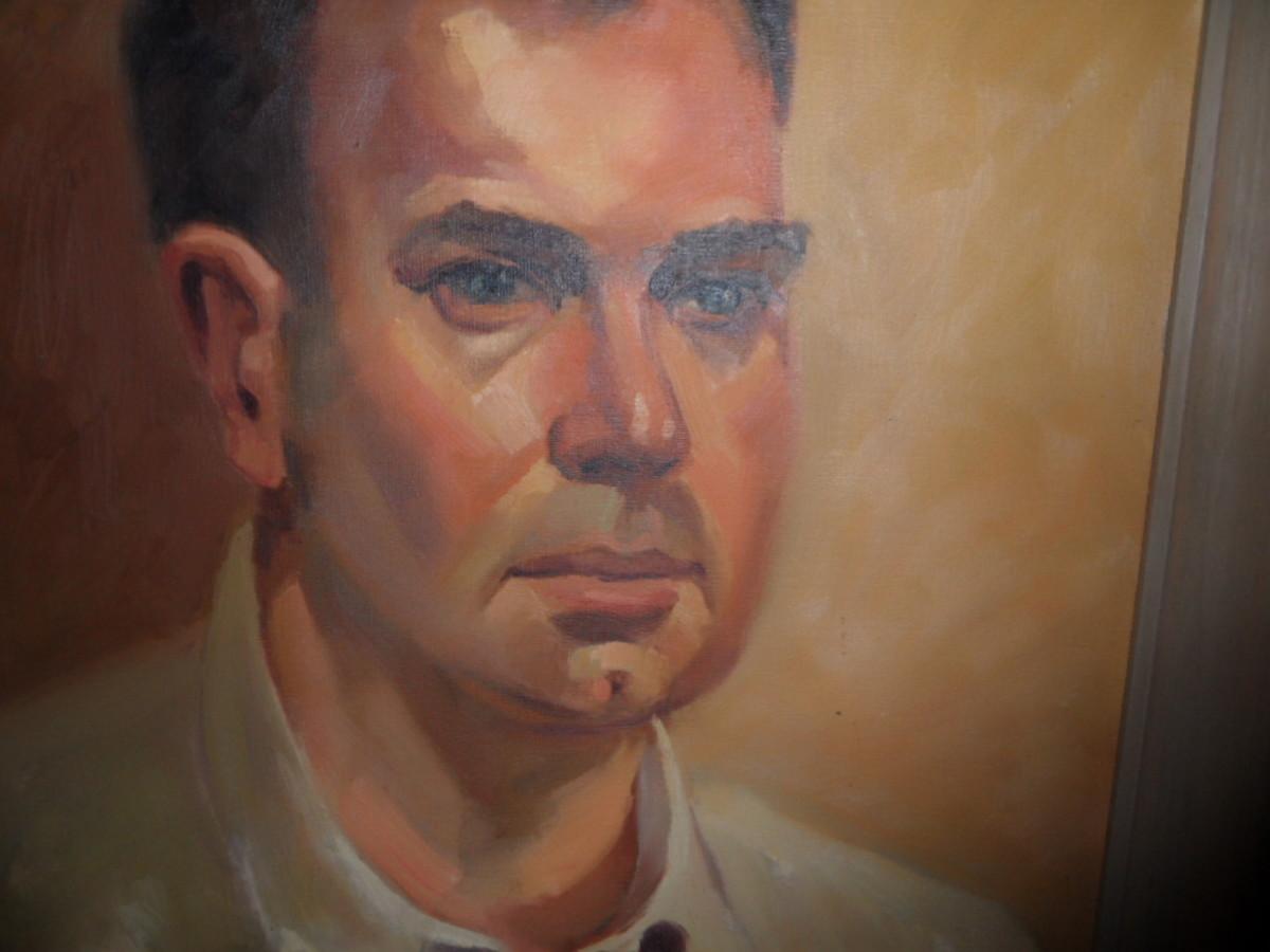 Portrait of John Keene Fleck