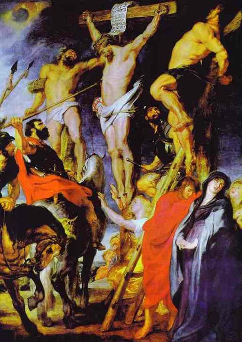 Christ on the Cross, Peter Paul Rubens (1577-1640)