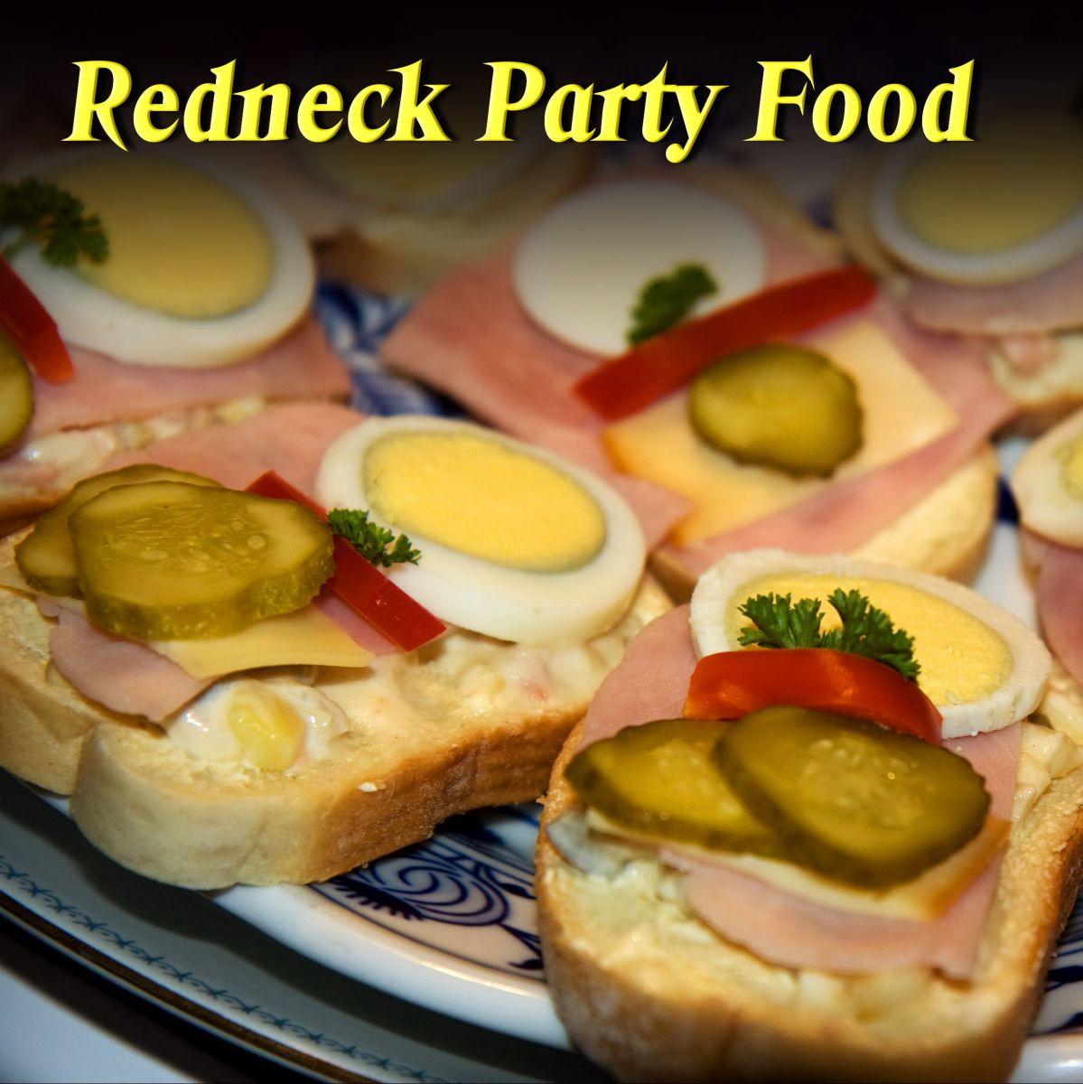 Redneck Party Food