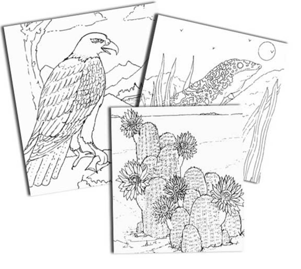 Endangered species Earth Day coloring pages free printables