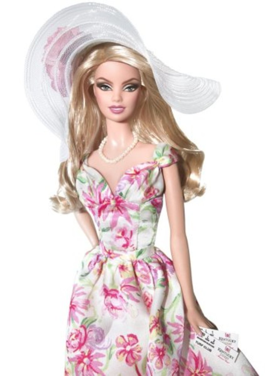 Kentucky Derby Barbie... Beauty and Grace...