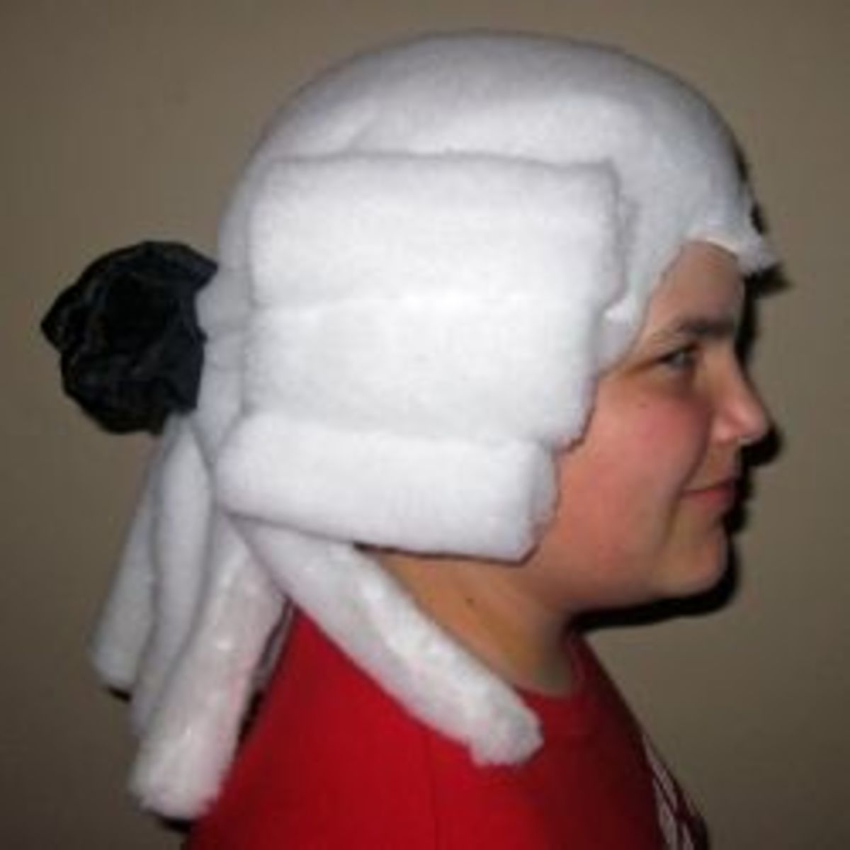 How To Make A Powdered Wig For A Judge Barrister Or