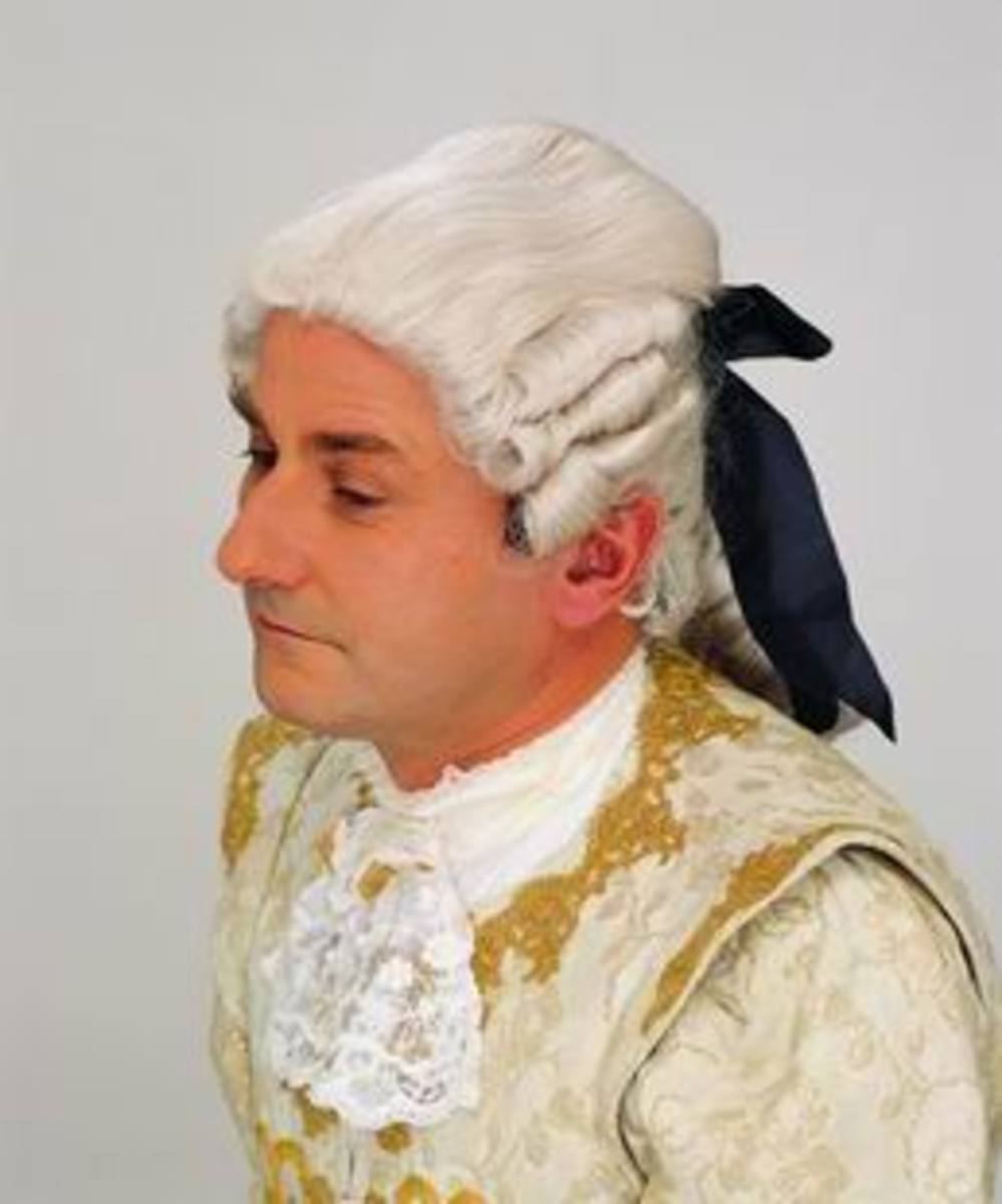 Powdered Wig