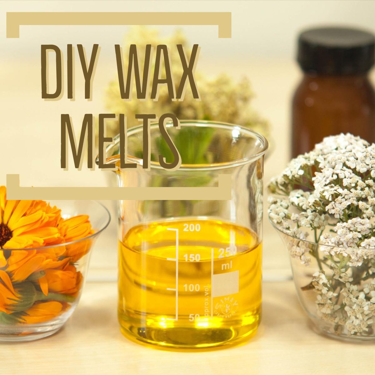 Making DIY Wax Melts