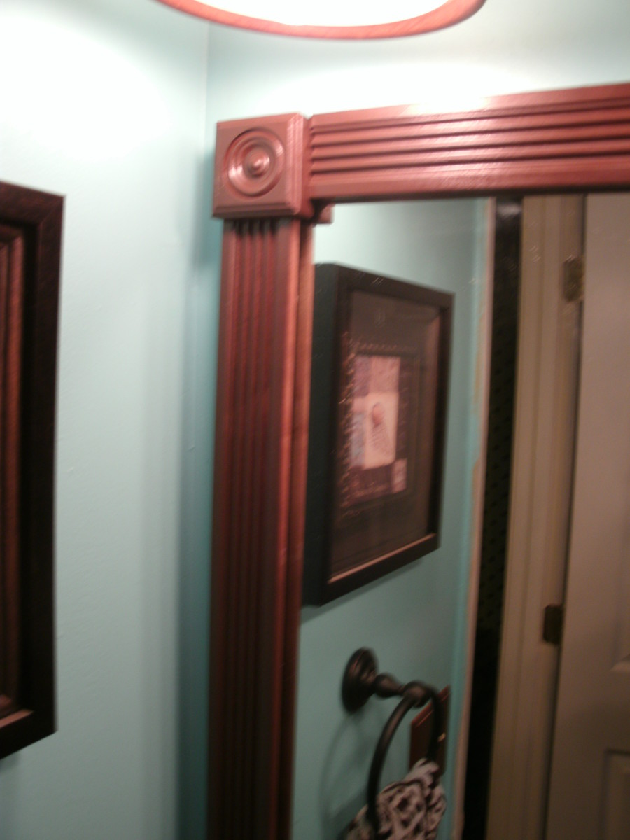 Do It Yourself Home Design: How To Update A Boring Bathroom, Part Three: Framing Out A